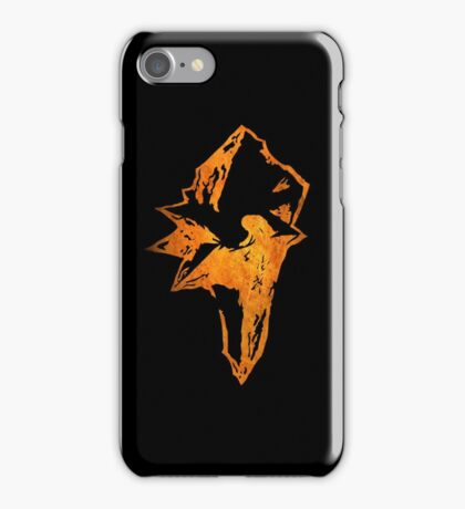 °FINAL FANTASY° Final Fantasy IX Rust Logo iPhone Case/Skin