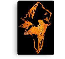 °FINAL FANTASY° Final Fantasy IX Rust Logo Canvas Print