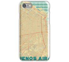 Buenos Aires Map Retro iPhone Case/Skin