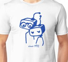 Robots groom and bride 1972 jubilee Unisex T-Shirt