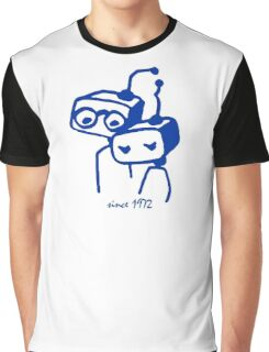 Robots groom and bride 1972 jubilee Graphic T-Shirt