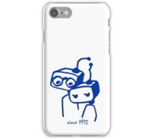 Robots groom and bride 1972 jubilee iPhone Case/Skin