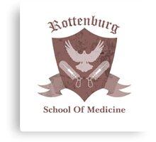 Rottenburg School Of Medicine - Team Fortress 2 Canvas Print