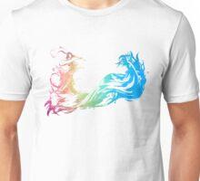 °FINAL FANTASY° Final Fantasy X Rainbow Logo Unisex T-Shirt