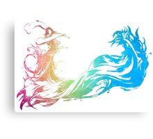 °FINAL FANTASY° Final Fantasy Rainbow Logo Canvas Print