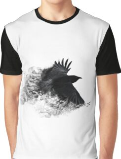 Smoke Crow Graphic T-Shirt