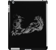 °FINAL FANTASY° Final Fantasy X B&W Logo iPad Case/Skin
