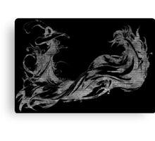 °FINAL FANTASY° Final Fantasy X B&W Logo Canvas Print