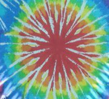Tie Dye 8 Sticker