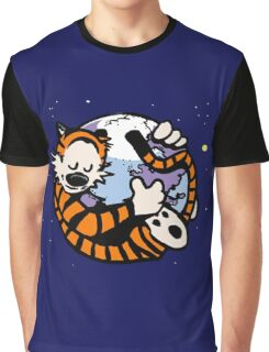 The Calvin and Hobbes Firefox Graphic T-Shirt