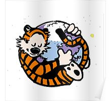 The Calvin and Hobbes Firefox Poster