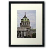 Pennsylvania State Capital #1 Framed Print