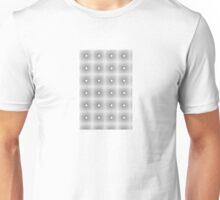 Op-Art Twisting squares Unisex T-Shirt