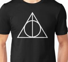 DEATHLY HALLOWS TRIANGLE SYMBOL Unisex T-Shirt
