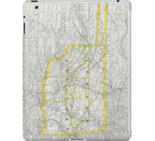 Vintage Map of Oklahoma (1889) iPad Case/Skin