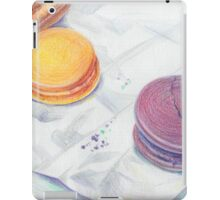 Bright multicolored macaroons iPad Case/Skin