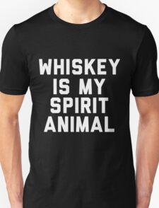 Whiskey Is My Spirit Animal T-Shirt