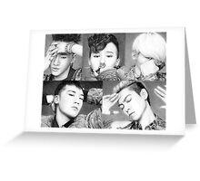 Big Bang Group Drawing Greeting Card