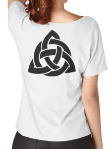 Celtic Knot, Icovellavna, basket weave knots, Endless, KNOT Women's Relaxed Fit T-Shirt