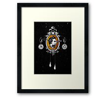 The Watchmaker (black version) Framed Print