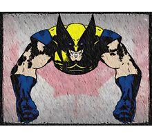 comic book logan Photographic Print
