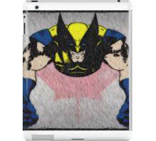 comic book logan iPad Case/Skin