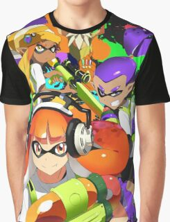 Not Sure If Squid or Kid - Black Graphic T-Shirt