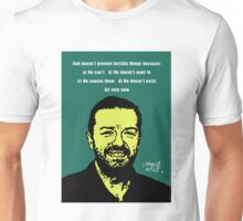 Ricky Gervais Atheist Unisex T-Shirt