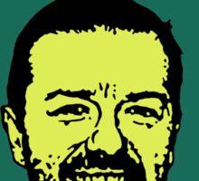Ricky Gervais Atheist Sticker