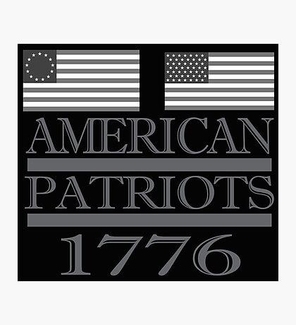American Patriots 1776  Photographic Print