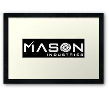 Timeless - Mason Industries Re-Imagined Logo Framed Print