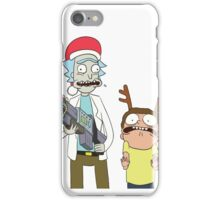 Merry Christmas - Rick and Morty iPhone Case/Skin