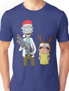 Merry Christmas - Rick and Morty Unisex T-Shirt