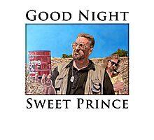 Good Night Sweet Prince Photographic Print