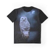 white owl Graphic T-Shirt