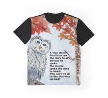 Wise Owl Graphic T-Shirt