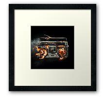 Revolution Radio Framed Print