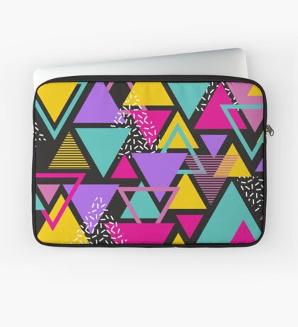 Memphis Triangles Laptop Sleeve