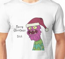 Scary Terry Merry Xmas Bitch - Rick and Morty Unisex T-Shirt