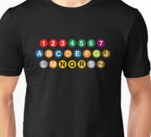 New York Subway Lines Unisex T-Shirt