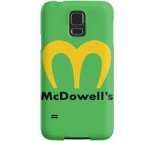 McDowells Samsung Galaxy Case/Skin