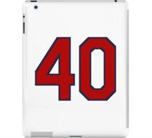 #40 iPad Case/Skin