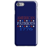 Patriot 1776  iPhone Case/Skin