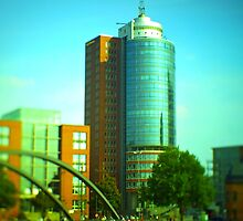Hanseatic Trade Center (Hamburg) -tiltshift by OLIVER W