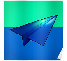 Paper Airplane 32 Poster