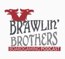 Brawling Brothers Design 3 Kids Tee