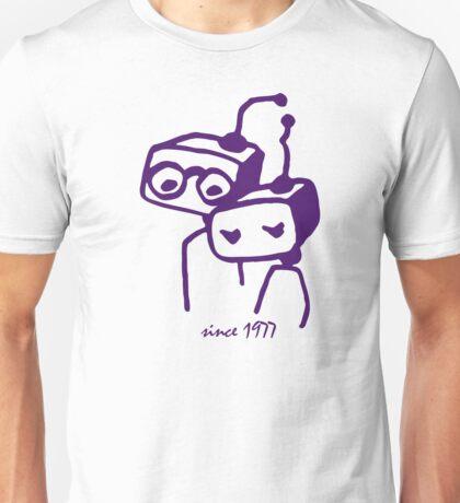 Robots groom and bride 1977 jubilee Unisex T-Shirt