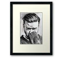 justin timberlake.. pencil Framed Print