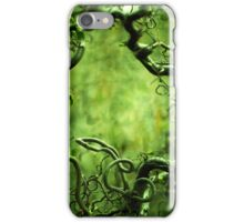 Curly tree branches  iPhone Case/Skin