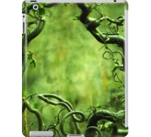 Curly tree branches  iPad Case/Skin